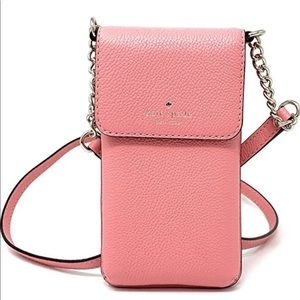 Kate Spade phone wallet crossbody leather purse